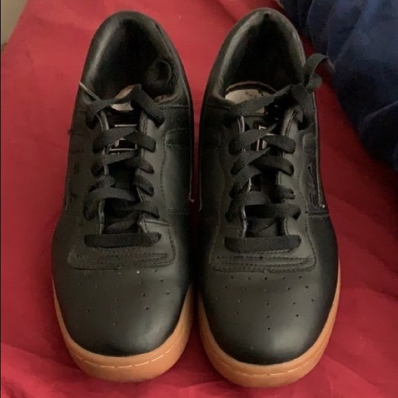 Fila Shoes | Filas Black With Bubble